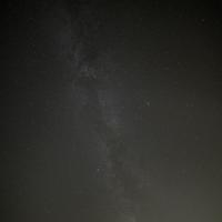 Milky Way in the night sky over Horicon Marsh