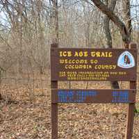 County Crossing on the Ice Age Trail, Wisconsin