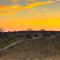 Dusk Over the Dunes at Kohler-Andrae State Park, Wisconsin