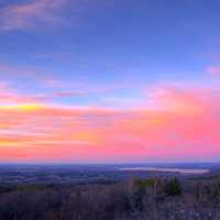 Dusk at Lapham Peak State Park, Wisconsin