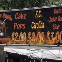 Blowin Smoke BBQ Stand at Taste of Madison, Wisconsin