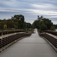 Bridge across the Lake and river in Madison