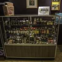 Canadian Mustards on display