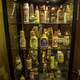 Many Mustards in display Case at National Mustard Museum