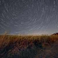 Star Trails in the Sky above Pheasant Branch Conservancy