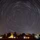 Star trails over Rennobaum park