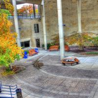 Courtyard in Madison, Wisconsin