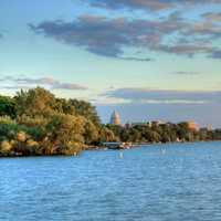 Shoreline and Capital in Madison, Wisconsin