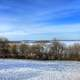 Snow filled Landscape in Madison, Wisconsin