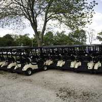 Golf Carts at Grant Park