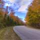 Winding Fall Road at Newport State Park, Wisconsin