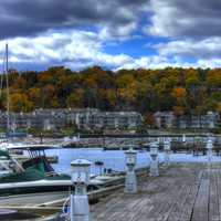 Sister Bay Marina at Sister Bay, Wisconsin