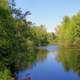 Scenic View of the Peshtigo River, Wisconsin