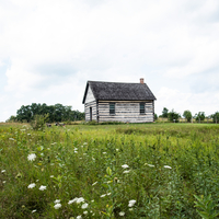 Countryside Cabin on the Prairie