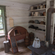 Furnace, pots and tea kettles at Old World Wisconsin