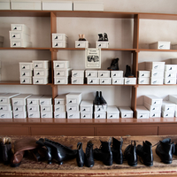 Shoes and Boots in Boxes