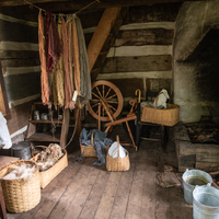 Spinning Wheel Room and Clothes making room