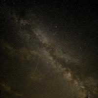 Milky Way stretched out across the sky at Meadow Valley