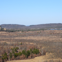 Overlook from top of Quincy bluff