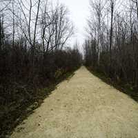 Wide Hiking Path