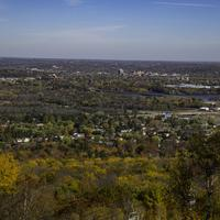 Overview of Wausau  from Rib Mountain