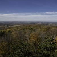View from the top of the Watchtower at Rib Mountain State Park