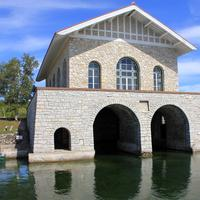 Rock Island Boathouse at Rock Island State Park, Wisconsin