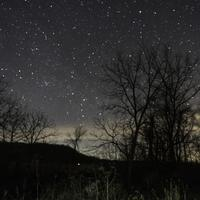 Astrophotography with stars in the sky in Ridgeway