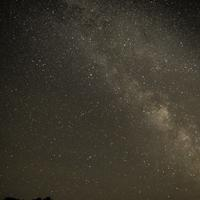 Bright Core of the Milky Way Galaxy at Hogback Prairie.