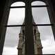 Church Spire through the window