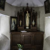 Interior of Saint Mary's Chapel at Indian Lake County Park, Wisconsin
