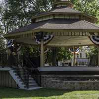 Pavilion in the Park in Lake Mills, Wisconsin