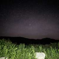Stars over the Hills at Hogback Prairie
