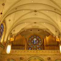 Another look inside the Basilica at Holy Hill, Wisconsin