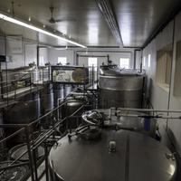 Wollersheim Winery Fermentation Room in Wisconsin