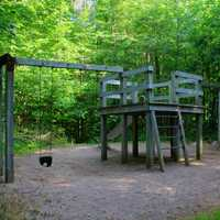 Playground at Timms Hill, Wisconsin