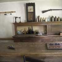 Bar and game room at Wade House