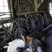 Big Wheels in the Blacksmith shop