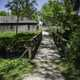 Bridge to the blacksmith shop at Wade House