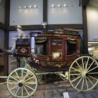 Old fancy carriage