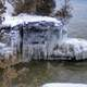 Ice on the Rocks at Whitefish Dunes State Park, Wisconsin