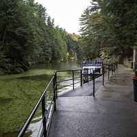 Boat and Walkway to Witches Gulch