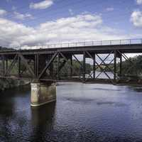 Bridge over the Wisconsin River at Wisconsin Dells