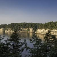 Cambrian Overlook bluffs at Wisconsin Dells