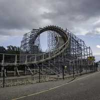 Roller Coaster Loop at Mount Olympus in Wisconsin Dells