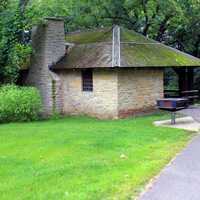 Picnic Building at Wyalusing State Park, Wisconsin