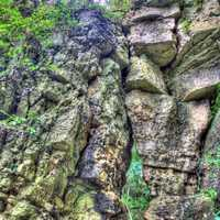 Rock Gate at Wyalusing State Park, Wisconsin