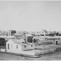 Cheyenne Cityscape in 1876, Wyoming