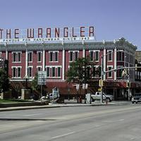 The Wrangler clothing store in Cheyenne, Wyoming