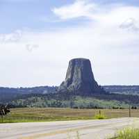 Devil's Tower from Far Away